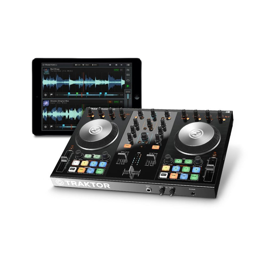 Native Instruments Traktor Kontrol S2 MKII DJ Controller with Lightning Cable