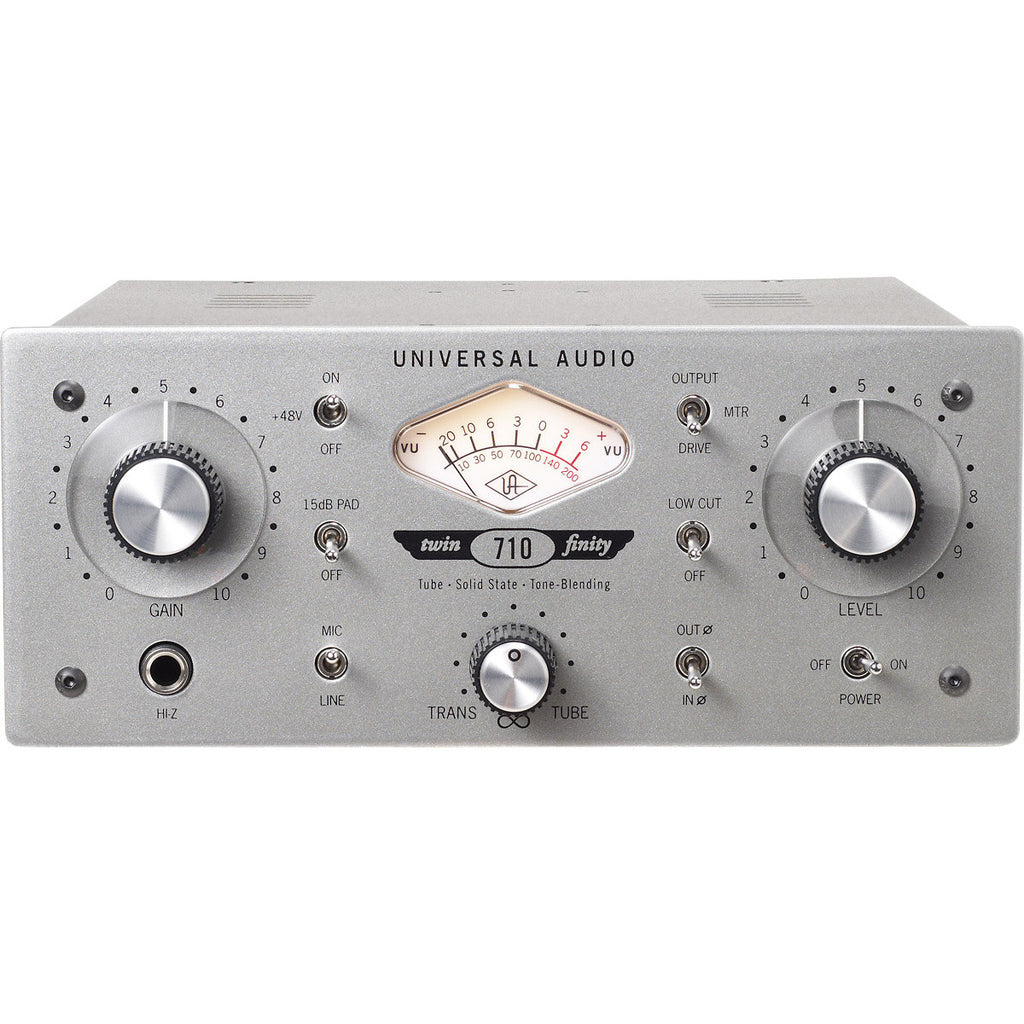 Universal Audio 710 Twin-Finity Mic Preamp