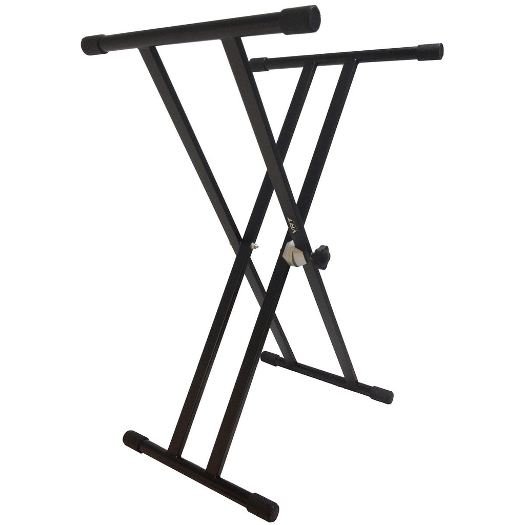 VRT Pro Audio Double Brace Keyboard Stand