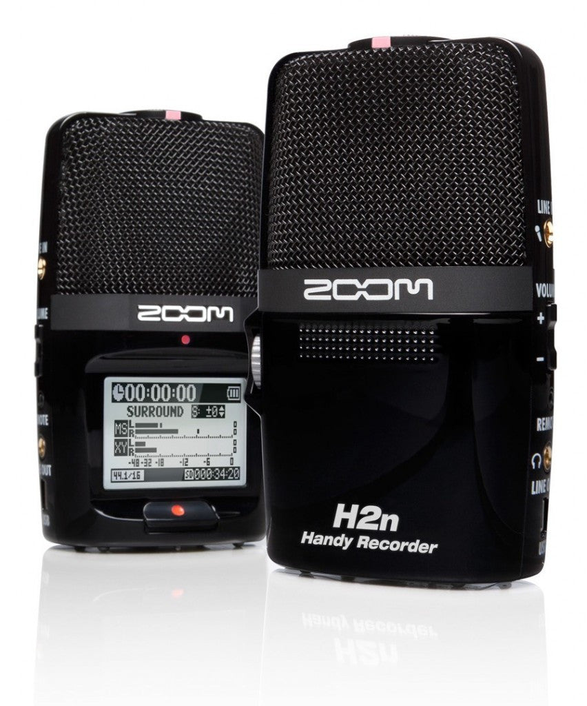 Zoom H2n Digital Handheld Handy Flash Memory Recorder