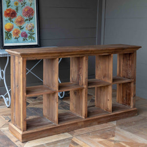 Park Hill Merchant's Reclaimed Pine Box Display Island - Accessories Essentials