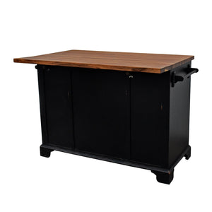 222 Fifth Hamilton Kitchen Island w/ Drop Leaf - Accessories Essentials