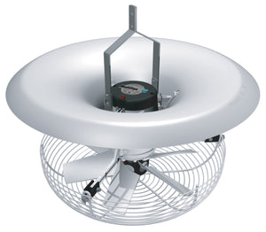 Greenhouse Air Mixer | V-Flo Fan | Includes Hanging Bracket