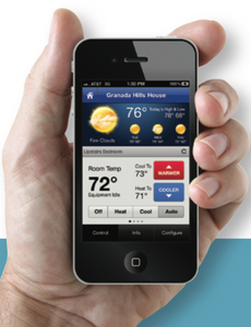 Touchscreen Digital Thermostat - Wifi Compatible