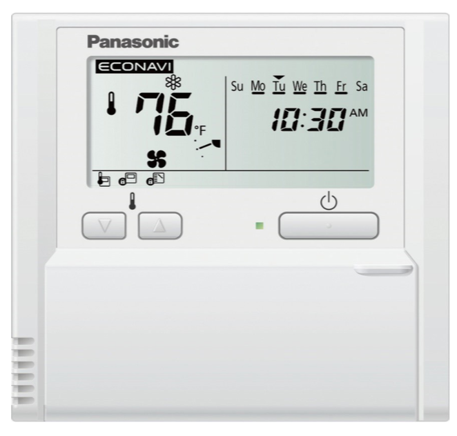 VRF Programmable Thermostat and Remote Sensor