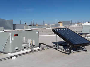 EasySun 8' Solar Thermal HVAC Panel | 6 to 12 Tons Cut Cooling Costs by 30 to 65% | Qualify for Tax Credits and Rebates