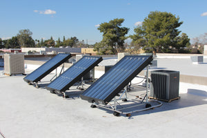EasySun 6' Solar Thermal HVAC Panel | 3 to 5 Ton Solar Panel | Cut Cooling Costs by 30 to 65% | Qualify for Tax Credits and Rebates
