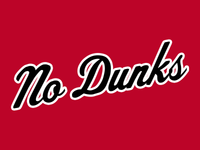 No Dunks Windy City Script T-Shirt