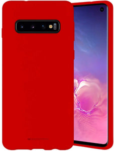 Goospery Liquid Silicone Case for Samsung Galaxy S10 (2019) 6.1 inch Jelly Rubber Bumper Case