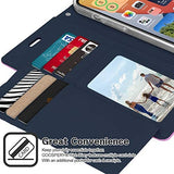 Goospery Rich Wallet Case for iPhone 12 Pro Max (6.7 inches) Extra Card Slots Leather Flip Cover