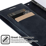 Goospery Mansoor Wallet for Samsung Galaxy Note 10 Plus Case (2019) Double Sided Card Holder Flip Cover