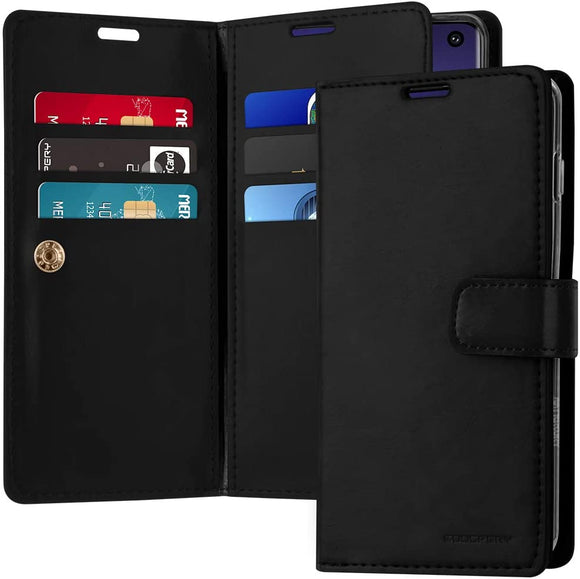 Goospery Mansoor Wallet for Samsung Galaxy S10 Case (2019) Double Sided Card Holder Flip Cover (