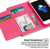 Goospery Rich Wallet for Apple iPhone SE 2020 Case Extra Card Slots Leather Flip Cover