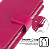 GOOSPERY Mansoor Wallet for Samsung Galaxy S20 Case (2020) Double Sided Card Holder Flip Cover