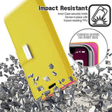 Goospery Rich Wallet for Apple iPhone 11 Pro Case (5.8 inches) Extra Card Slots Leather Flip Cover (Yellow) IP11PRO-RIC-YEL