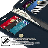 Goospery Mansoor Wallet for Samsung Galaxy S20 Case (2020) Double Sided Card Holder Flip Cover (Black) S20-MAN-BLK