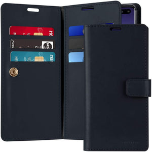 Goospery Mansoor Wallet for Samsung Galaxy S10 Plus Case (2019) Double Sided Card Holder Flip Cover