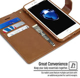 Goospery Blue Moon Wallet for Apple iPhone SE 2020 Case Leather Stand Flip Cover