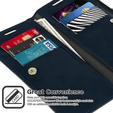 GOOSPERY Mansoor Wallet for Samsung Galaxy Note 20 Case (2020) Double Sided Card Holder Flip Cover