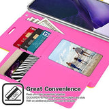 GOOSPERY Rich Wallet for Samsung Galaxy Note 20 Ultra Case (2020) Extra Card Slots Leather Flip Cover