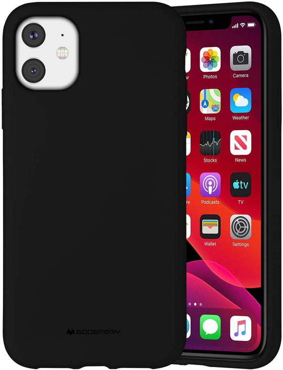 Goospery Liquid Silicone Case for Apple iPhone 11 (6.1 inches) Jelly Rubber Bumper Case