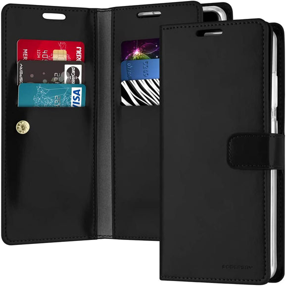 Goospery Mansoor Wallet for Samsung Galaxy S20 Ultra Case (2020) Double Sided Card Holder Flip Cover
