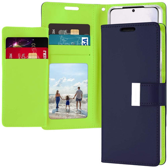 Goospery Rich Wallet for Samsung Galaxy S20 Case (2020) Extra Card Slots Leather Flip Cover