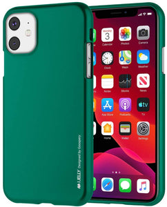 Goospery i-Jelly for Apple iPhone 11 Case (6.1 inches) Slim Thin Rubber Case