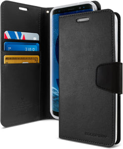 Goospery Sonata Wallet for Samsung Galaxy S9 Case (2018) Leather Stand Flip Cover