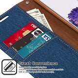 Goospery Canvas Wallet for Samsung Galaxy S20 Plus Case (2020) Denim Stand Flip Cover (Blue) S20P-CAN-BLU