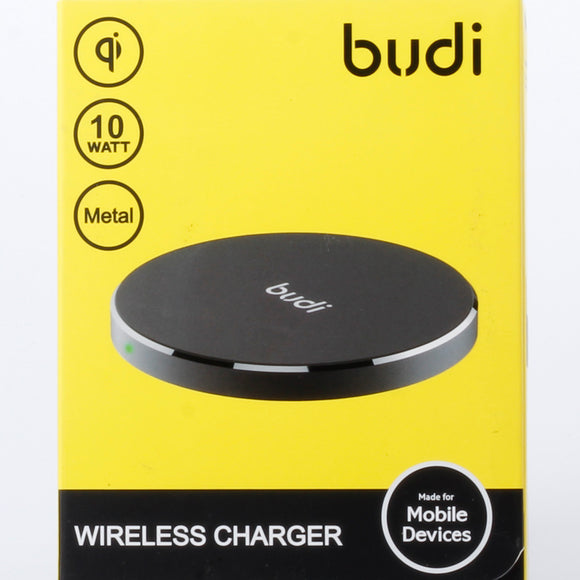 Budi metal wireless charger 10 watt 3A3100