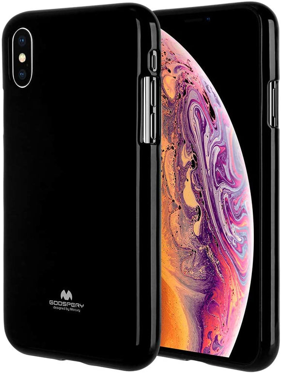 Goospery Pearl Jelly for Apple iPhone Xs Case (2018) iPhone X Case (2017) Slim Thin Rubber Case