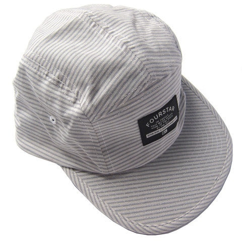 Fourstar Brophy Hat 5 Panel Grey