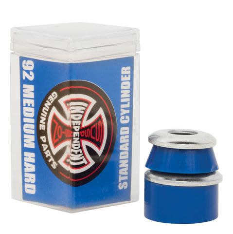 Independent Cylinder Bushings Medium Hard 92a Blue