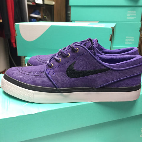 NikeSB Zoom Stefan Janoski PR SE Court Purple Light Ash Grey Shoes