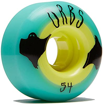 Welcome Orbs Wheels Poltergeists Teal/Yellow 54mm 102a