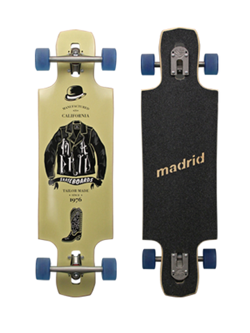 Madrid Tailored Riot Longboard Deck 34""