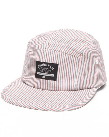 Fourstar Brophy Hat 5 Panel Ecru Hickory