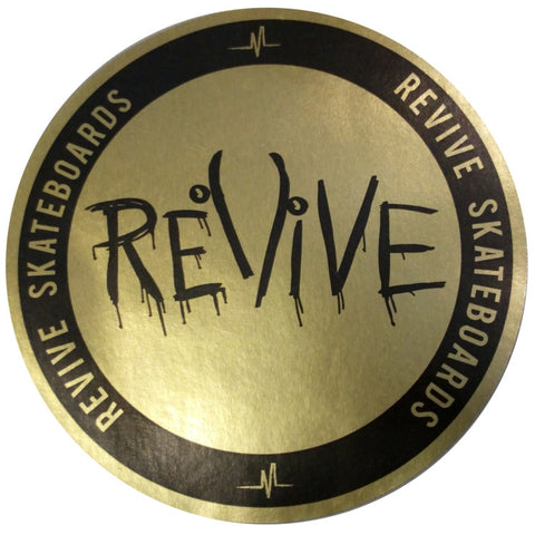 Revive Gold Sticker
