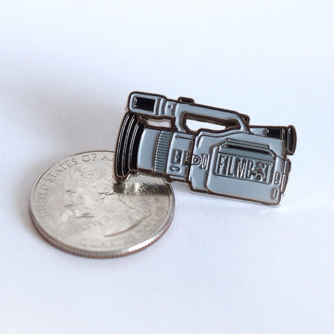 Filmbot VX1000 Pin Badge