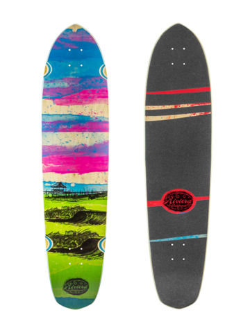 "Riviera Glass Off 40"" Longboard Deck"