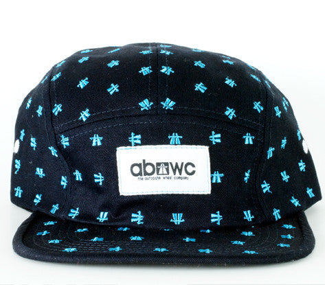 Autobhan Camper Cap 5 Panel - Dots Limited Edition Navy Hat