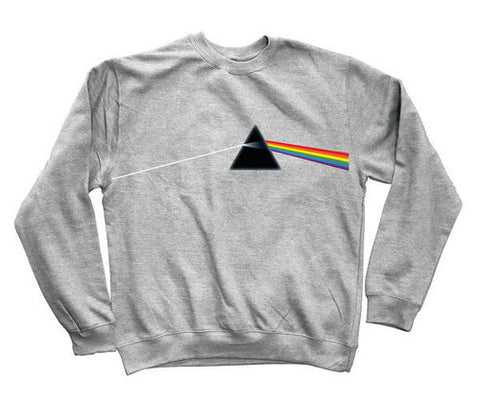 Habitat Pink Floyd Darkside of the Moon Crew Sweatshirt Heather