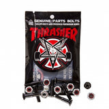 "Thrasher Bolts 1"" Phillips Hardware Black/Silver"