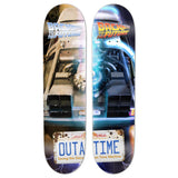 "Madrid Back to the Future Deck 8.25"" OutaTime Delorean Restoration Right (Limited Edition)"
