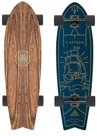 "Prism Captain Ashurst 31"" Longboard Cruiser (NEW)"