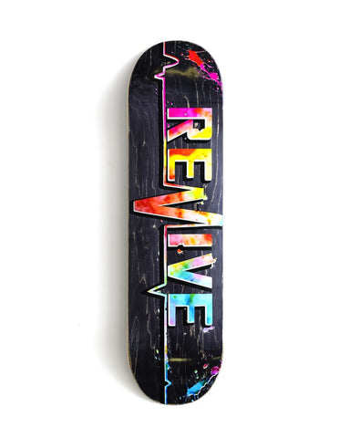 Revive Skateboards Tie Dye 3.0 Deck