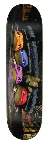 Teenage Mutant Ninja Turtles TMNT Poster Everslick Deck 8.25""