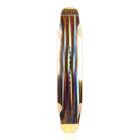 "Landyachtz Stratus Faction 40"" GOLD (Limited Edition) Deck"