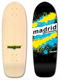 Madrid Explosion OG Cruiser Blue/Yellow Deck 29.25""